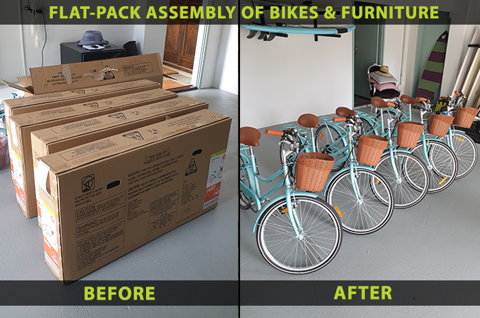 flat pack assembly installation
